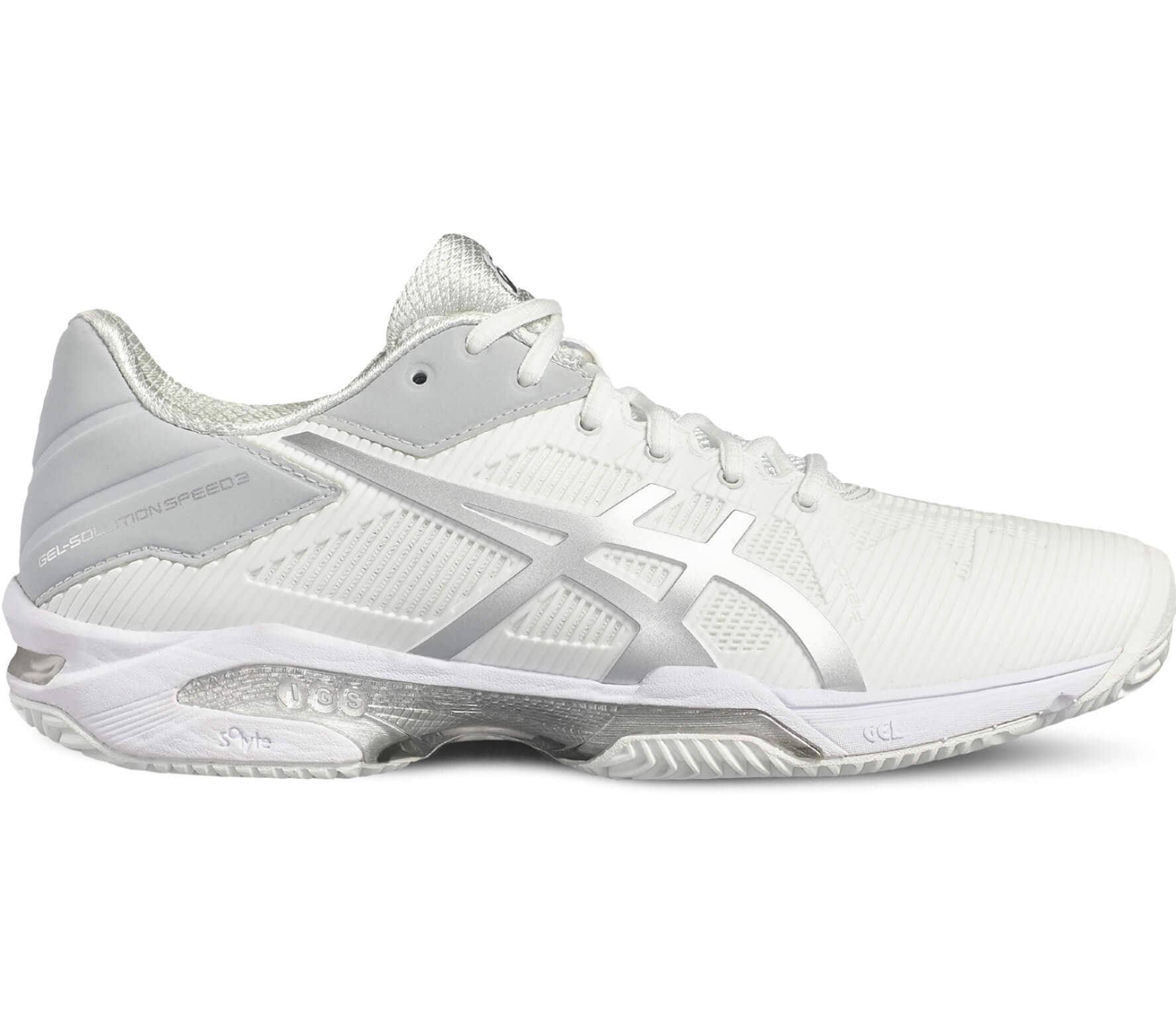asics gel solution speed 3 clay womens tennis shoe 46a724