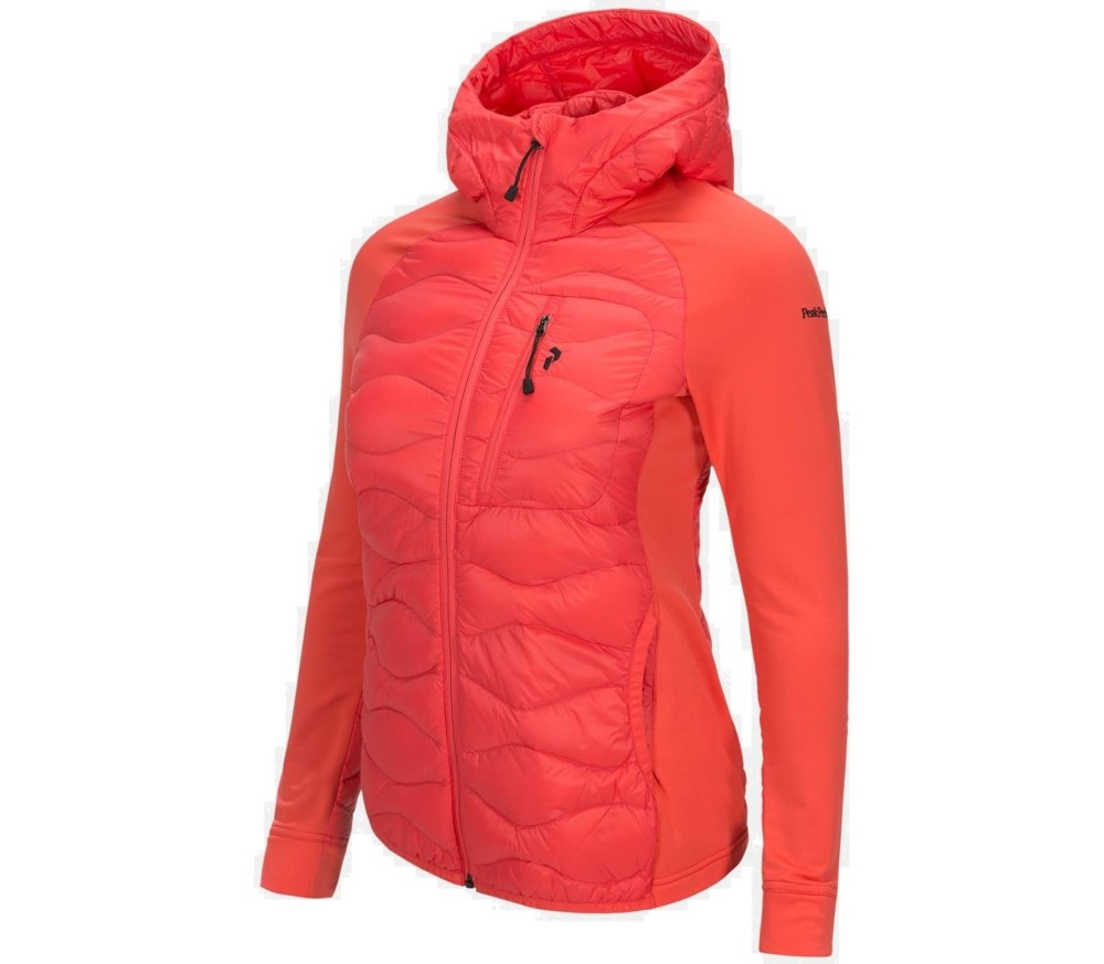 Peak Performance - Helihybh women's outdoor jacket (pink)