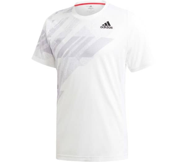ADIDAS Flif Print T High Rise Men Tennis Top - 1