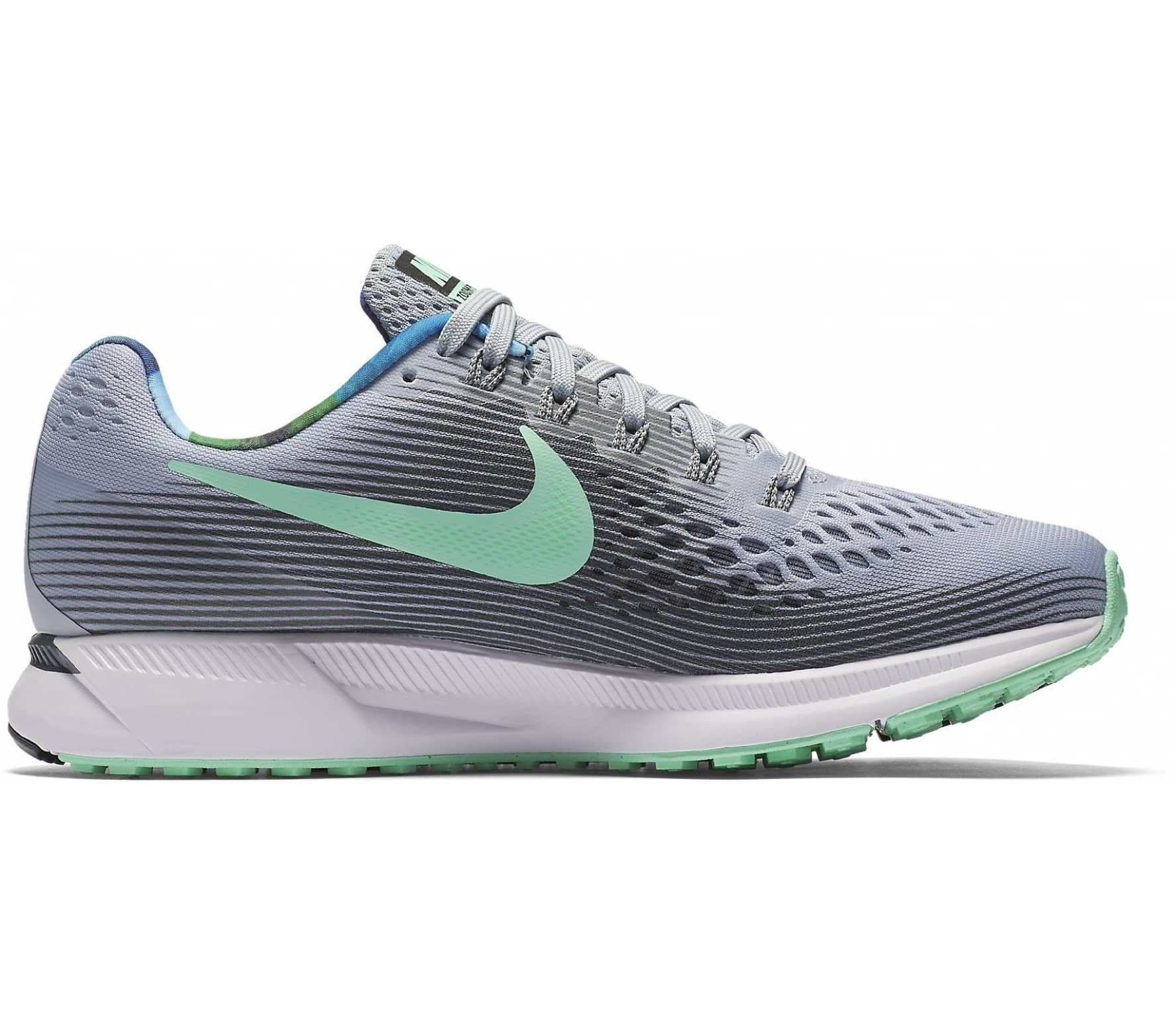 cheap for discount 0be23 73a3c Nike - Air Zoom Pegasus 34 Solstice Damen Laufschuh (grau hellgrün)