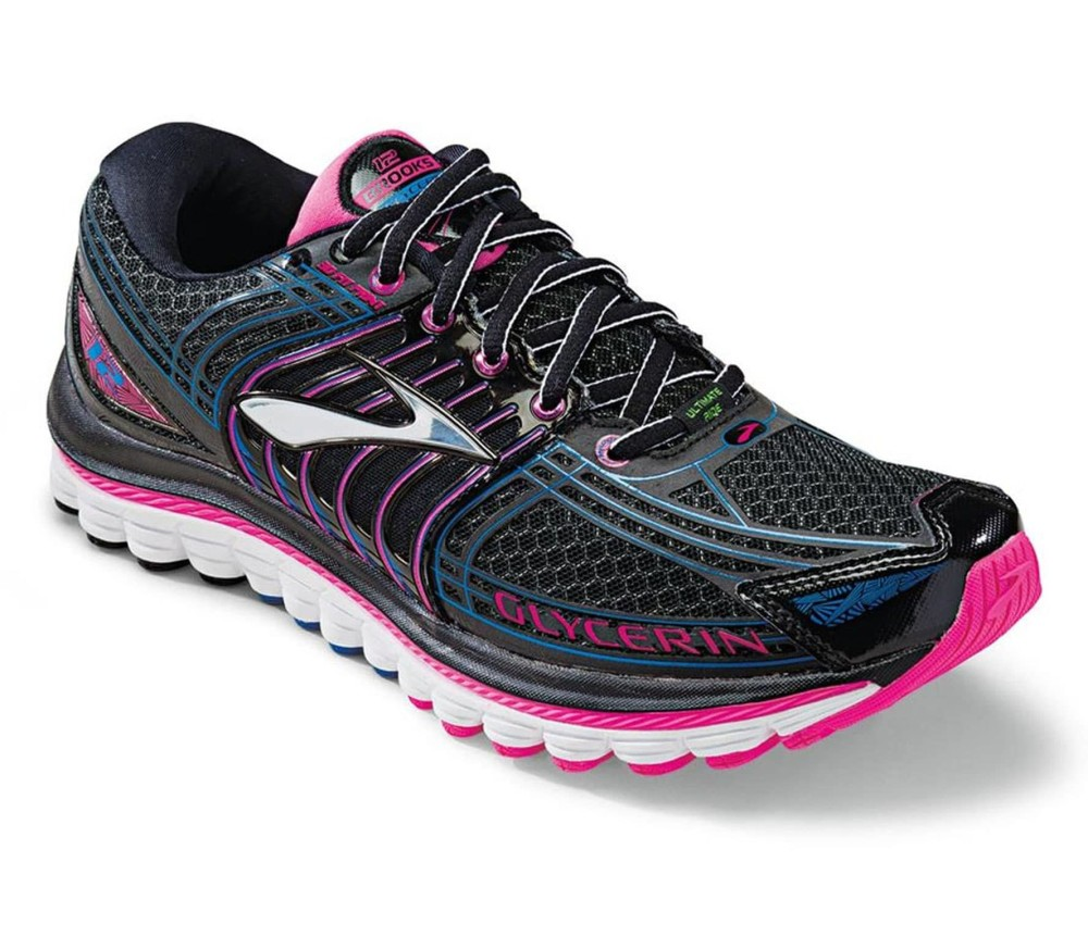 Brooks Running Shoes Black And Pink