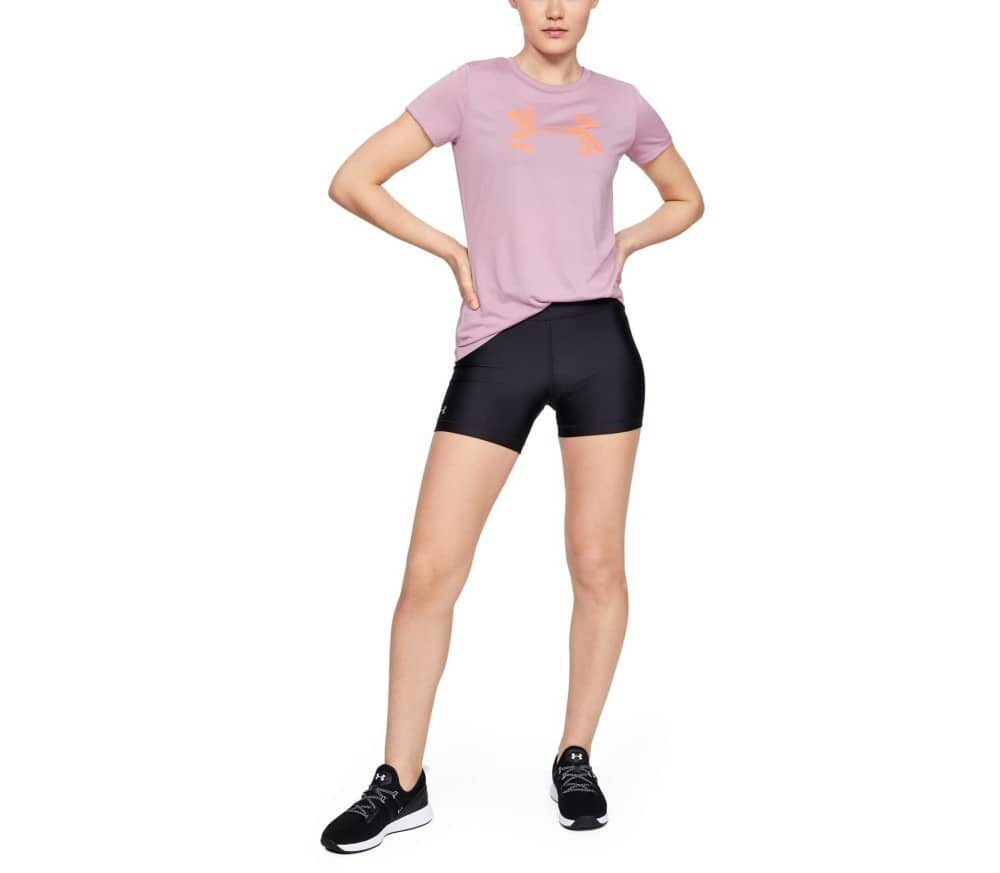Under Armour Tech C Graphic Women Training Top pink