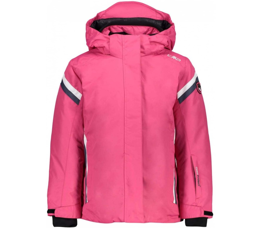 Zip Hood Children Ski Jacket