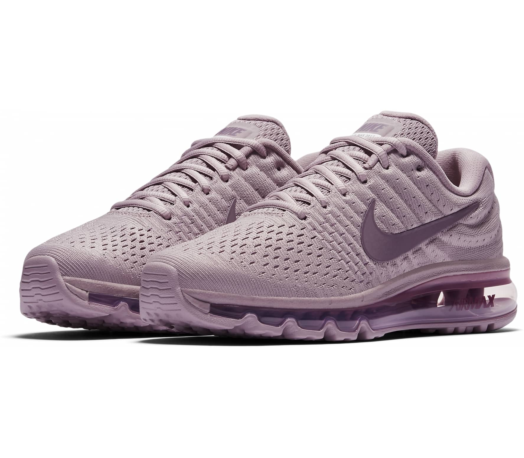 new styles 7008f 15d78 Nike - Air Max 2017 womens running shoes (purple)