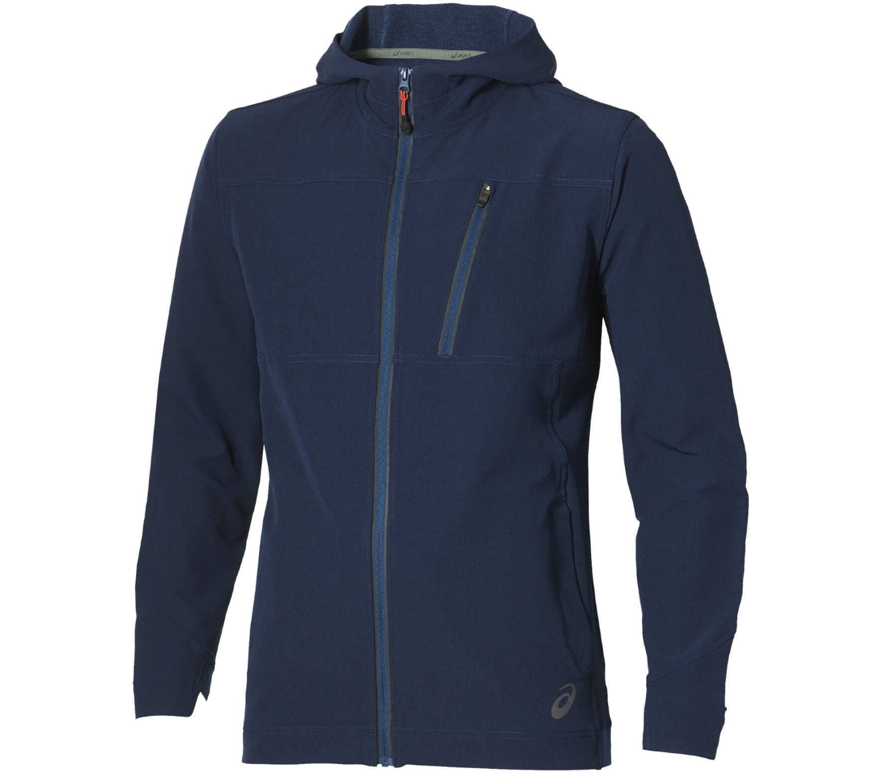 ASICS Yarn Dye Men Training Jacket blue
