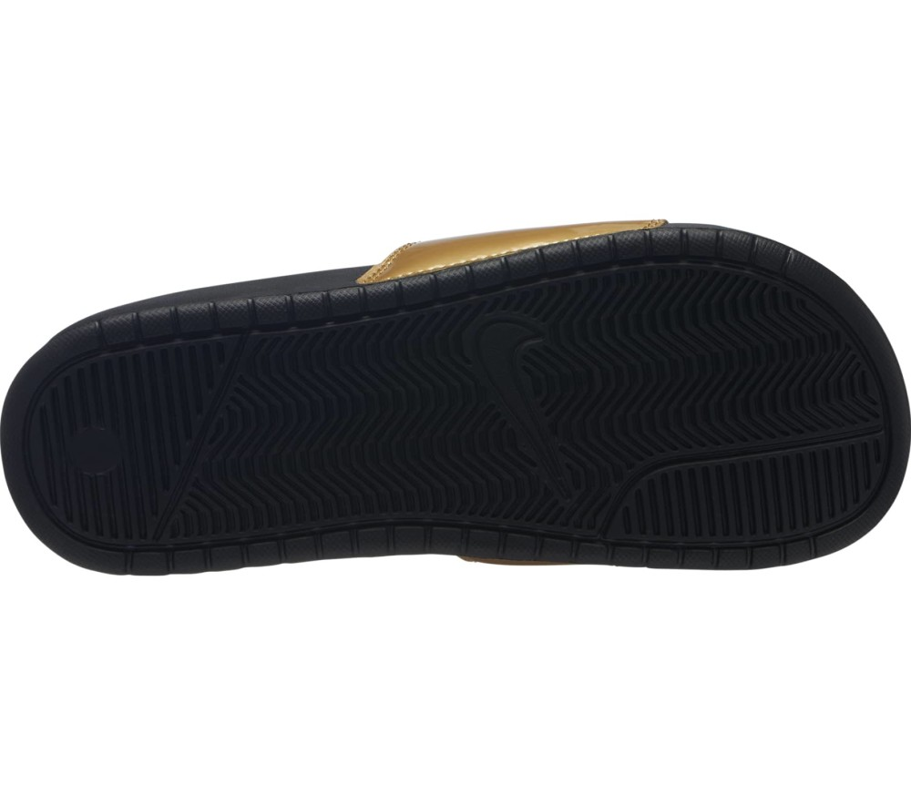 Nike Sportswear - Benassi Just Do It Mujer zapatillas (negro)