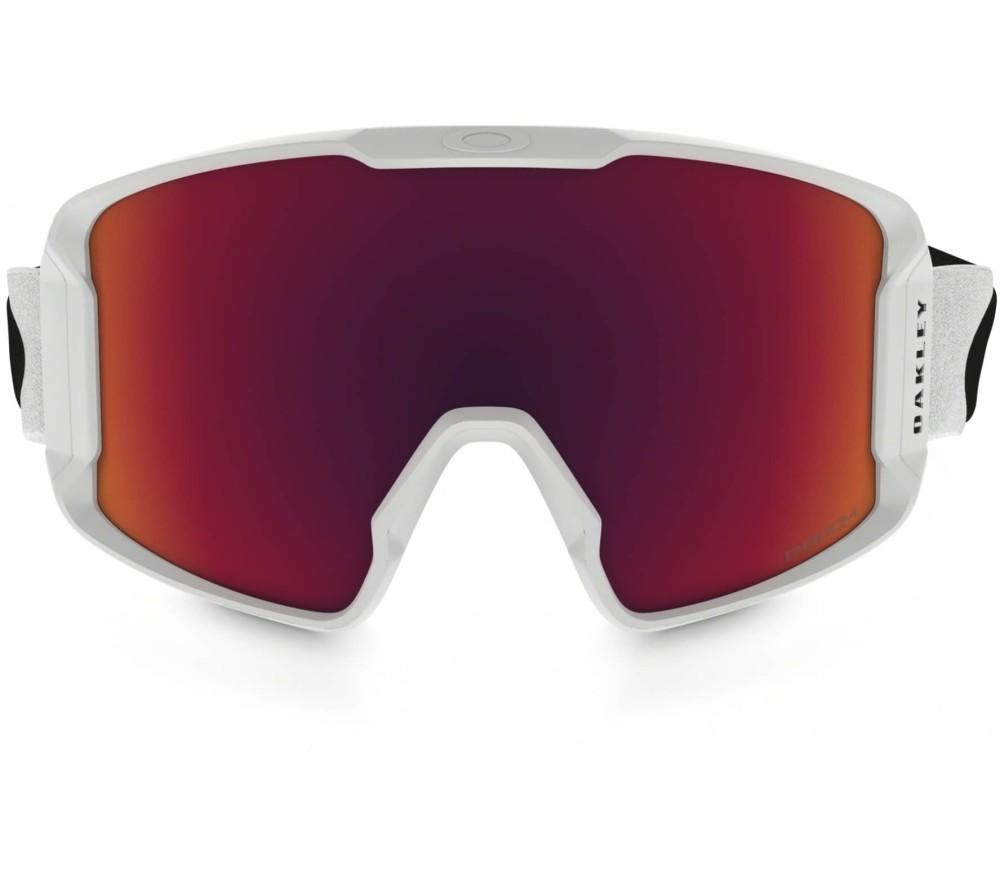Oakley Line Miner Skibrille weiß