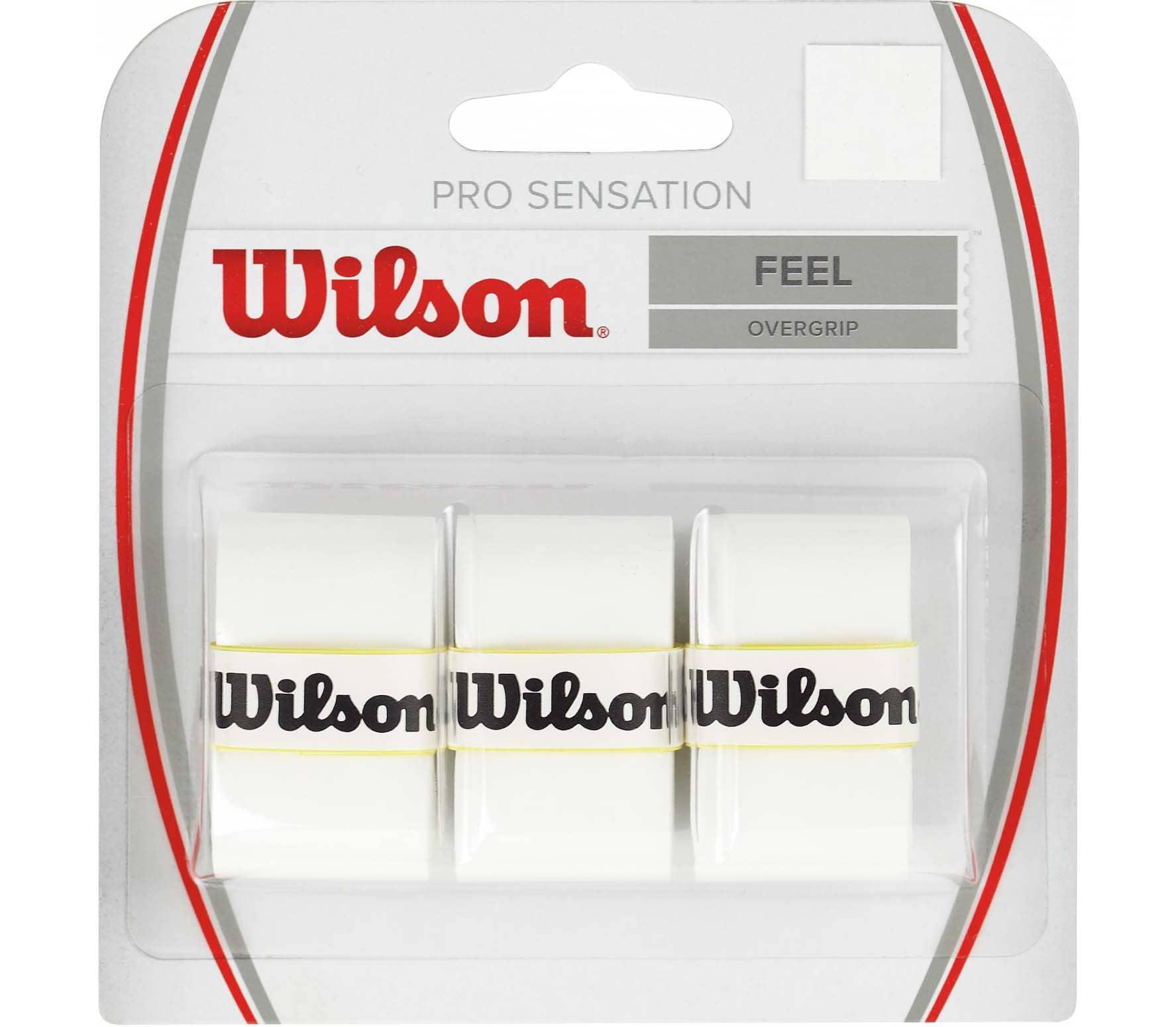 Wilson Pro Overgrip Sensation Griffband weiß