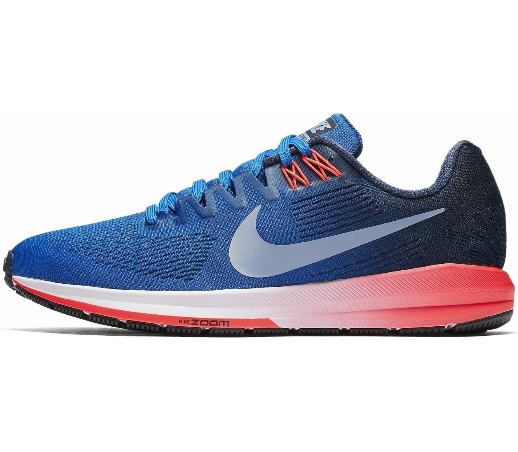 buy online 6c4f6 9bb4c Nike - Air Zoom Structure 21 mens running shoes (bluegrey)