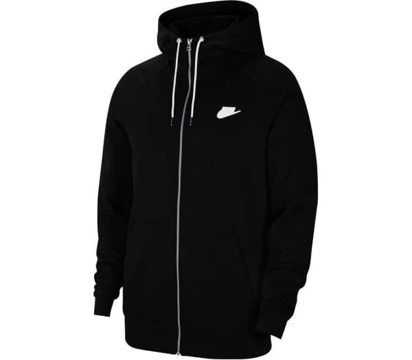NIKE SPORTSWEAR BLACK Men Zip-up Sweatshirt - 1