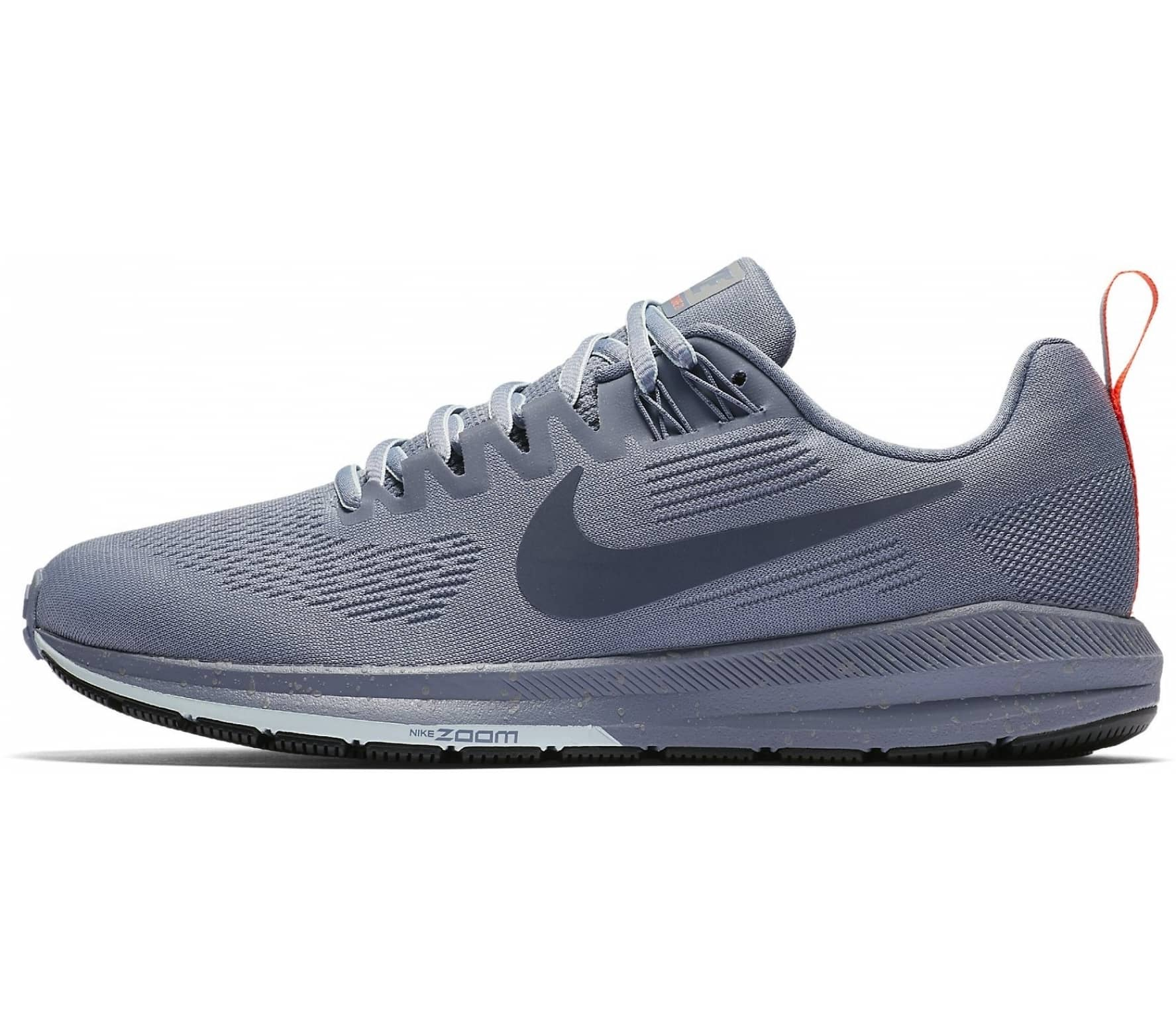 b6f8a6775f377 Nike - Air Zoom Structure 21 Shield women s running shoes (blue grey ...
