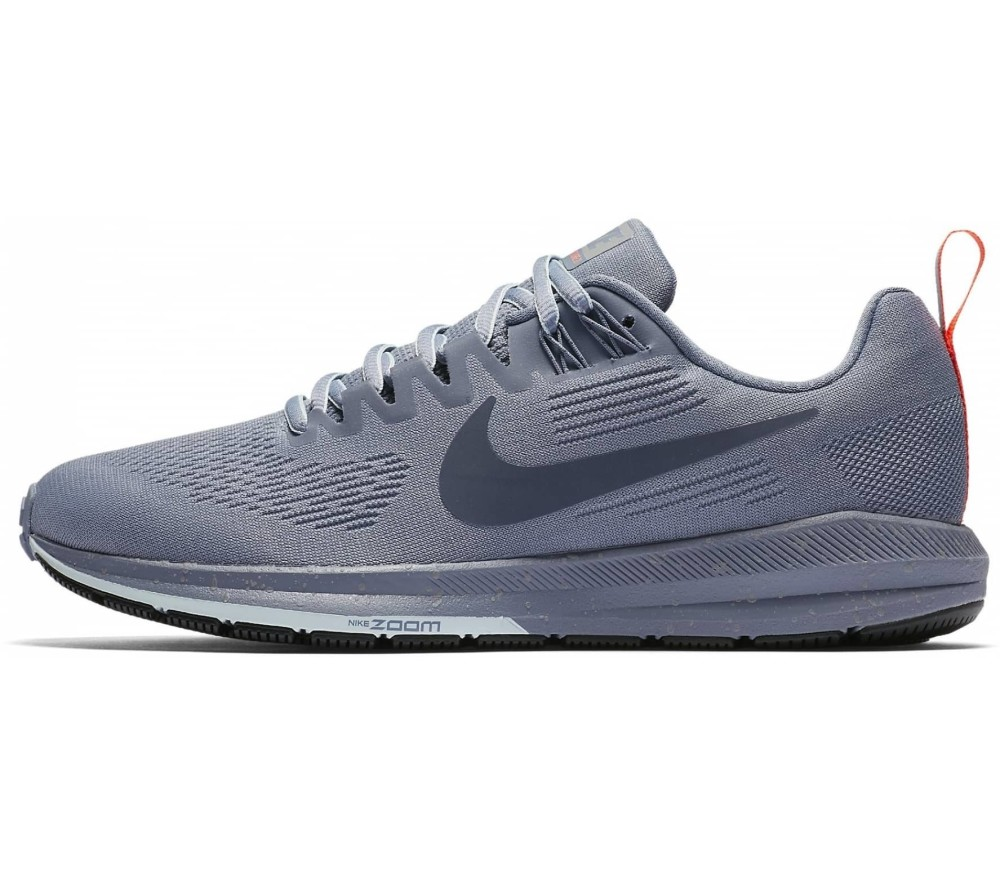 1484db98d40 Nike - Air Zoom Structure 21 Shield women s running shoes (blue grey)