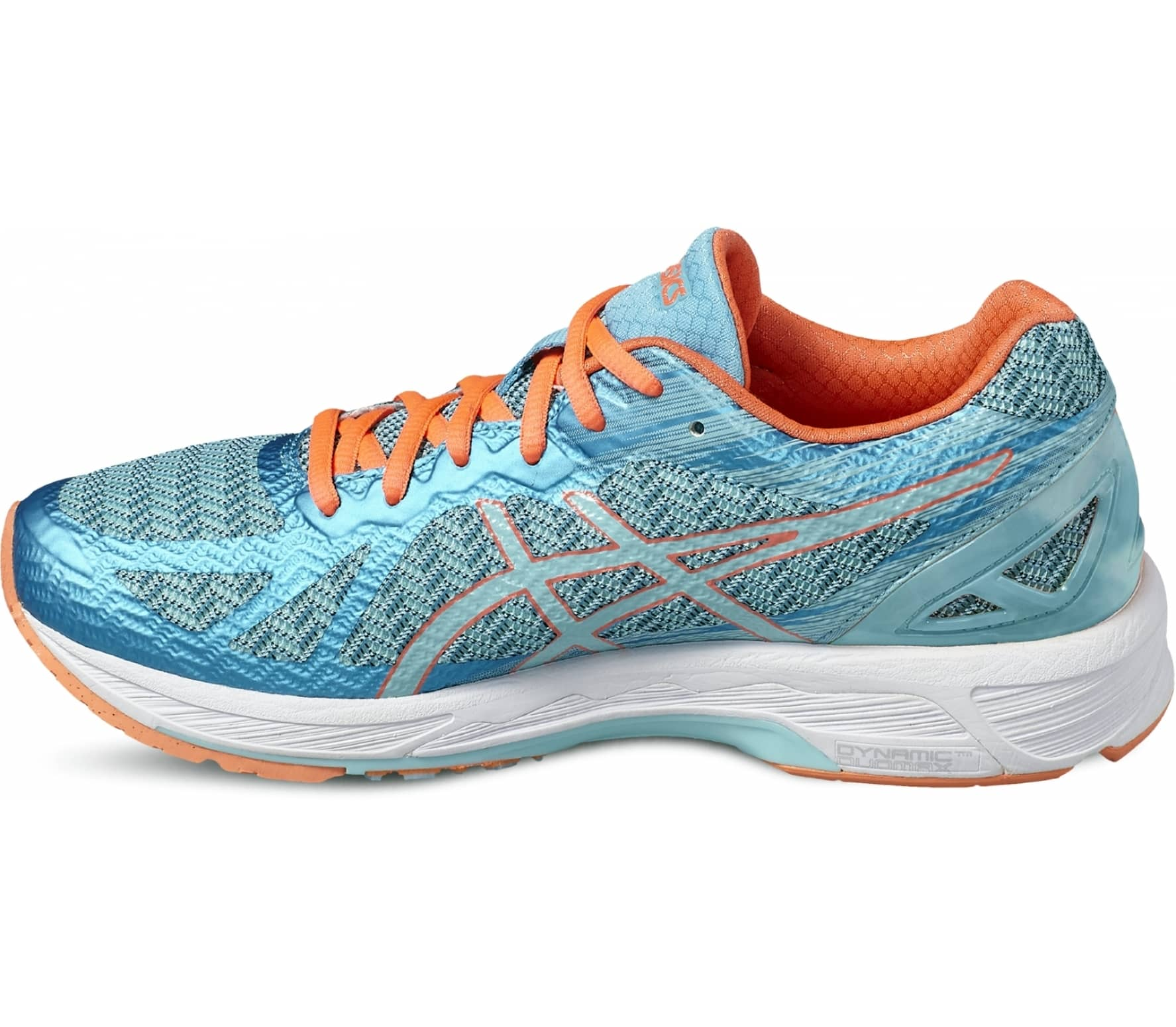 ASICS - Gel-DS Trainer 22 women's running shoes (blue/orange)