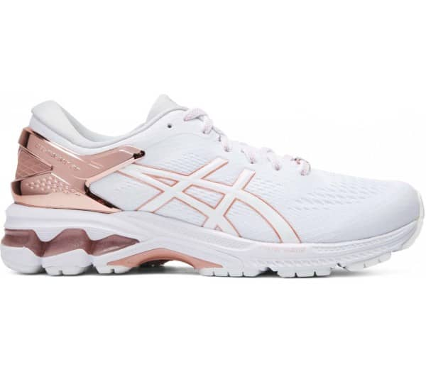 ASICS GEL-KAYANO 26 PLATINUM Women Running Shoes