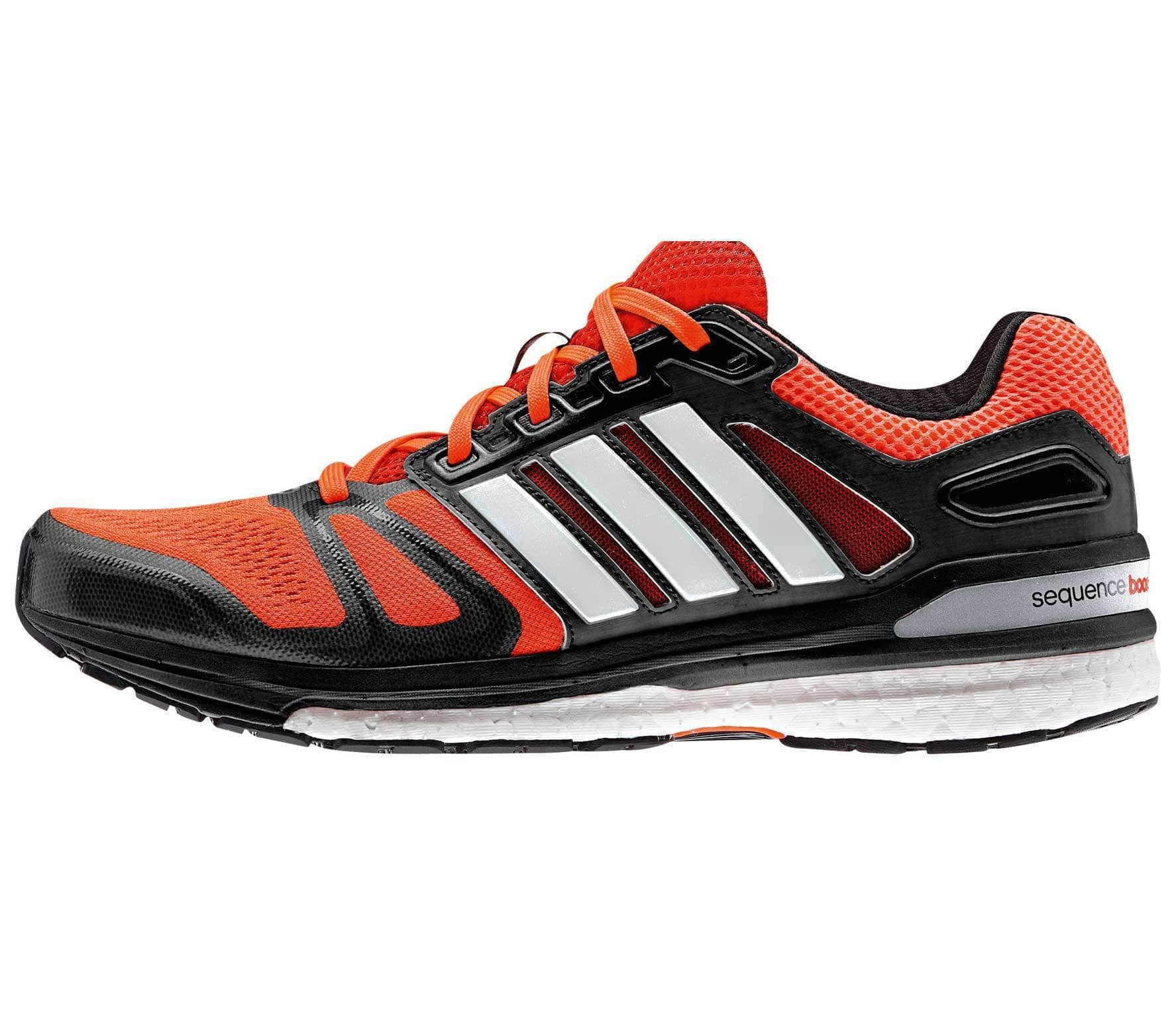 32b61c114f078 Adidas - Supernova Sequence Boost men s running shoes (red black ...