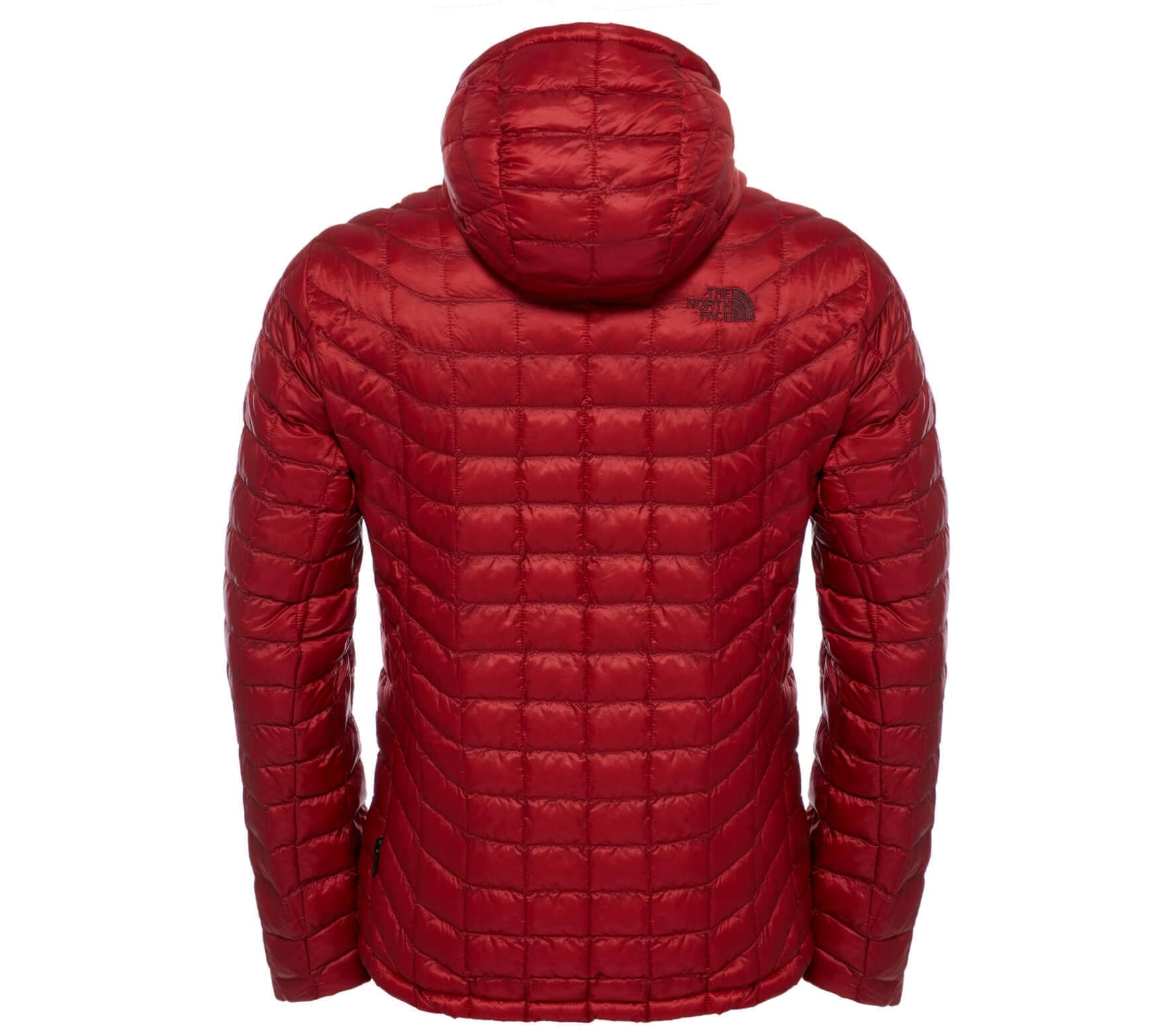 a0da1a035f6450 The north face. ThermoBall hoodie men's synthetic fibre insulating jacket  (red)