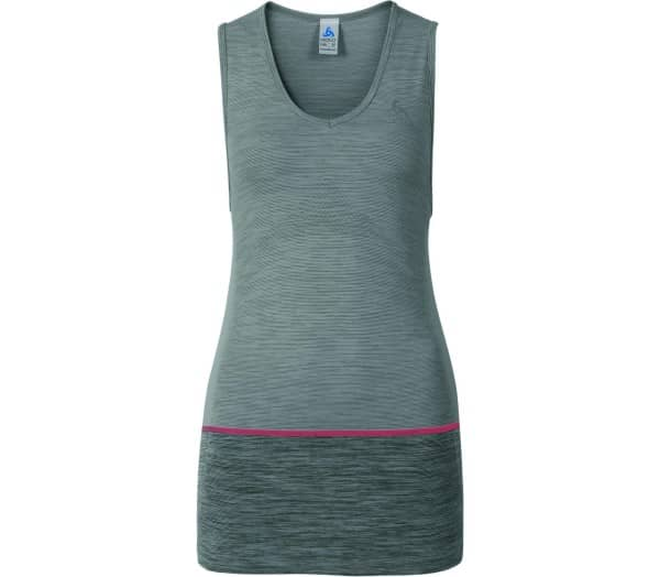 ODLO Seamless Kamilera Singlet V-Neck Women Running Top - 1