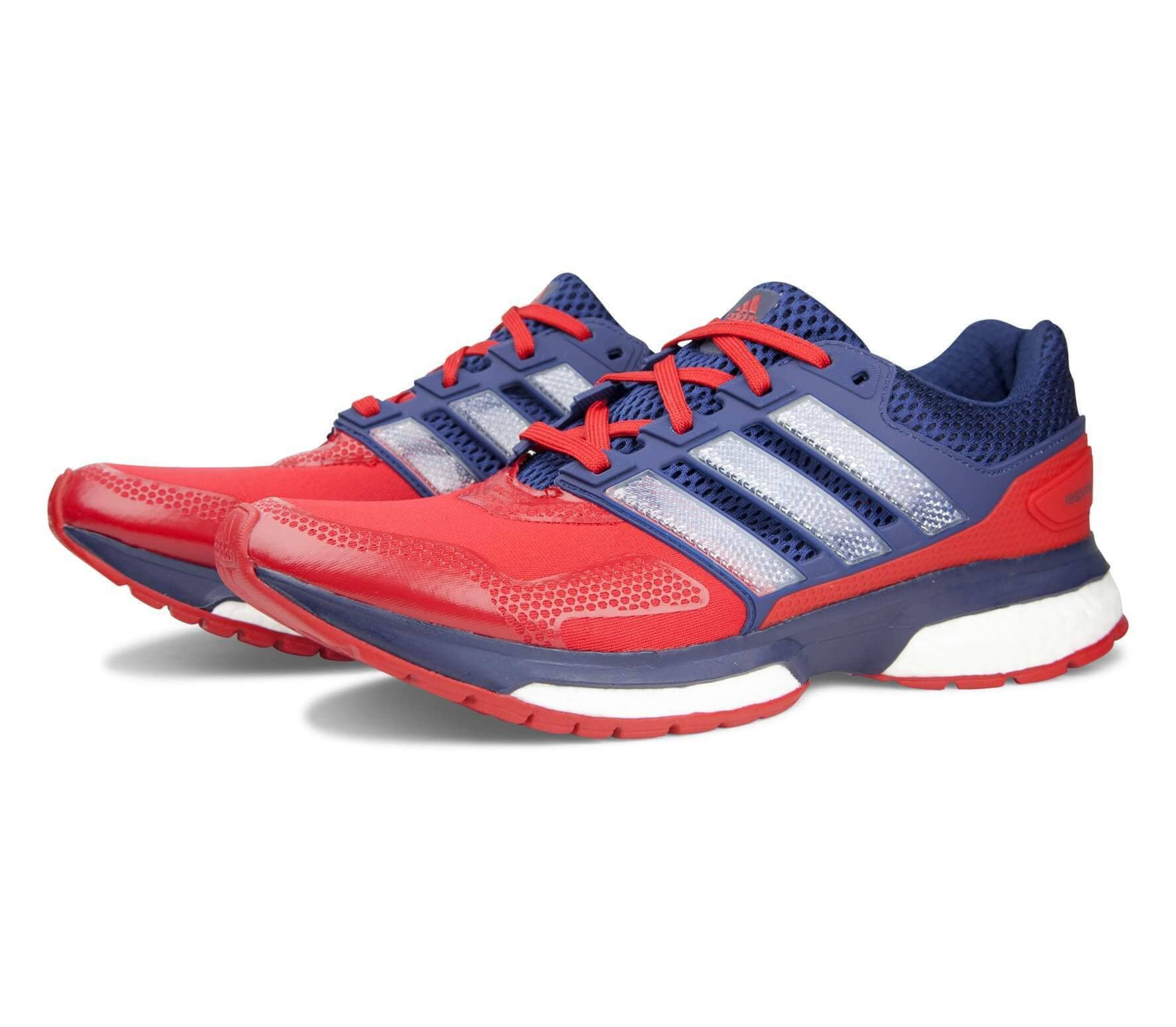 Adidas - Response Boost Techfit 2 men s running shoes (red dark blue ... cbe5c09b5