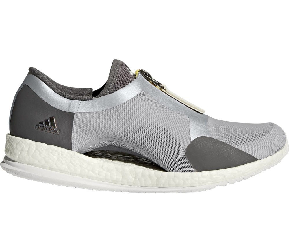 new style 5509a 6bea1 Adidas - PureBoost X Tr Zip women s running shoes (grey)