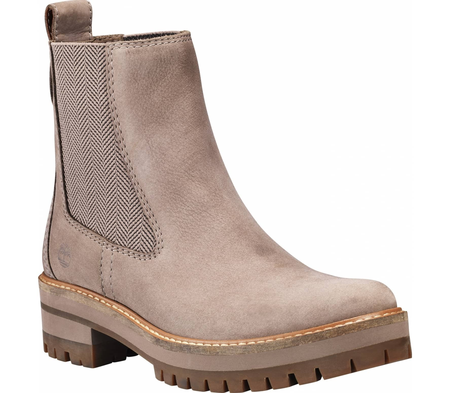 82cad17ad2123 Timberland - Courmayeur Valley Chelsea Donna Mountain Scarpe lifestyle  (grigio)