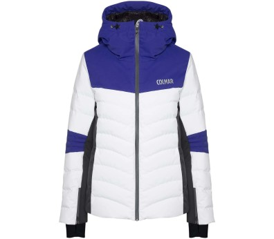 Colmar - Courchevel 1850 Dames ski jas (wit/blauw)