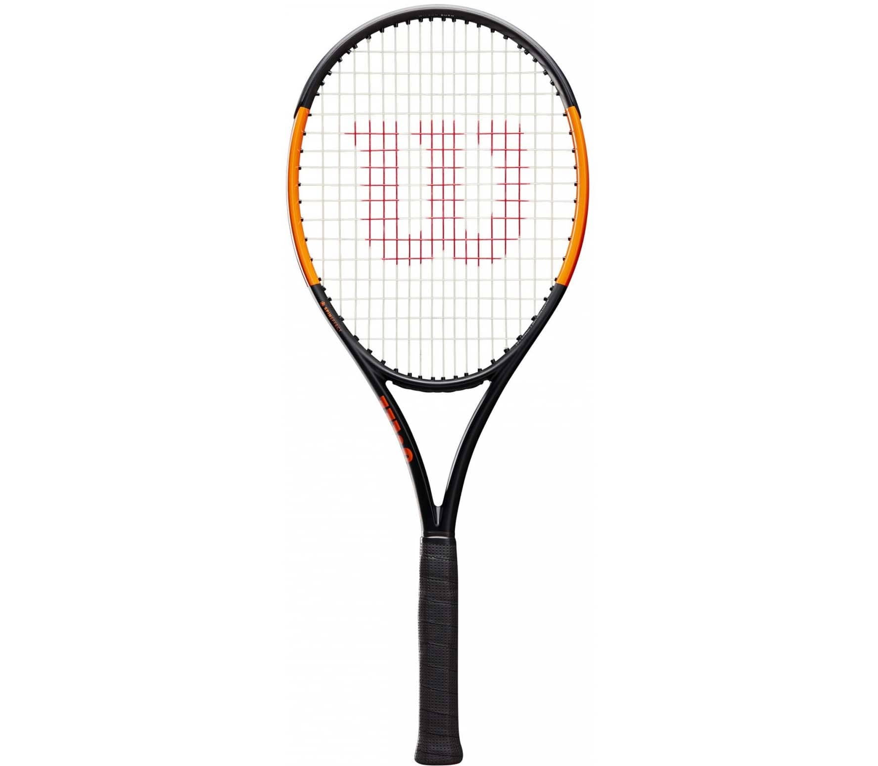 Wilson - Burn 100 ULS tennis racket (black/orange)