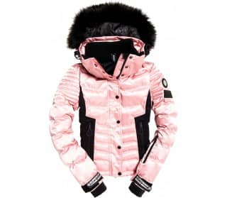 Luxe Snow Puffer Women Ski Jacket