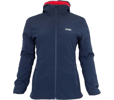 Colmar - Stretch Fit Damen Outdoorjacke (blau/rot)
