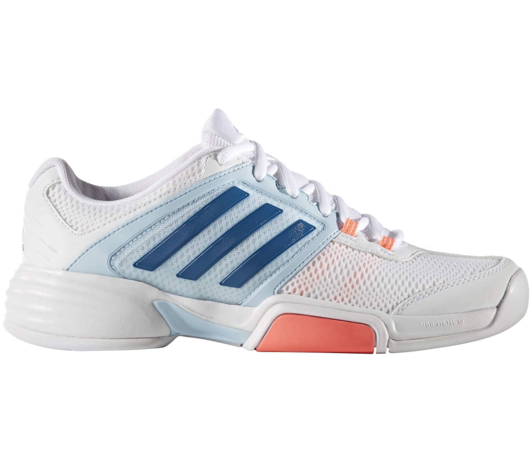 sports shoes 308b3 e6004 Adidas - Barricade Club CPT women s tennis shoes (white pink)
