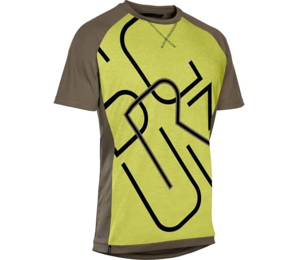ION Letters Scrub AMP Men Cycling Jersey - 1