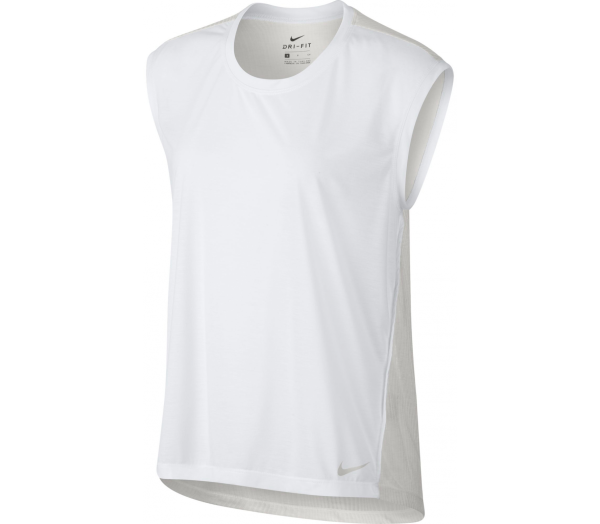 NIKE Breathe Sleeveles Dames Trainingtop - 1