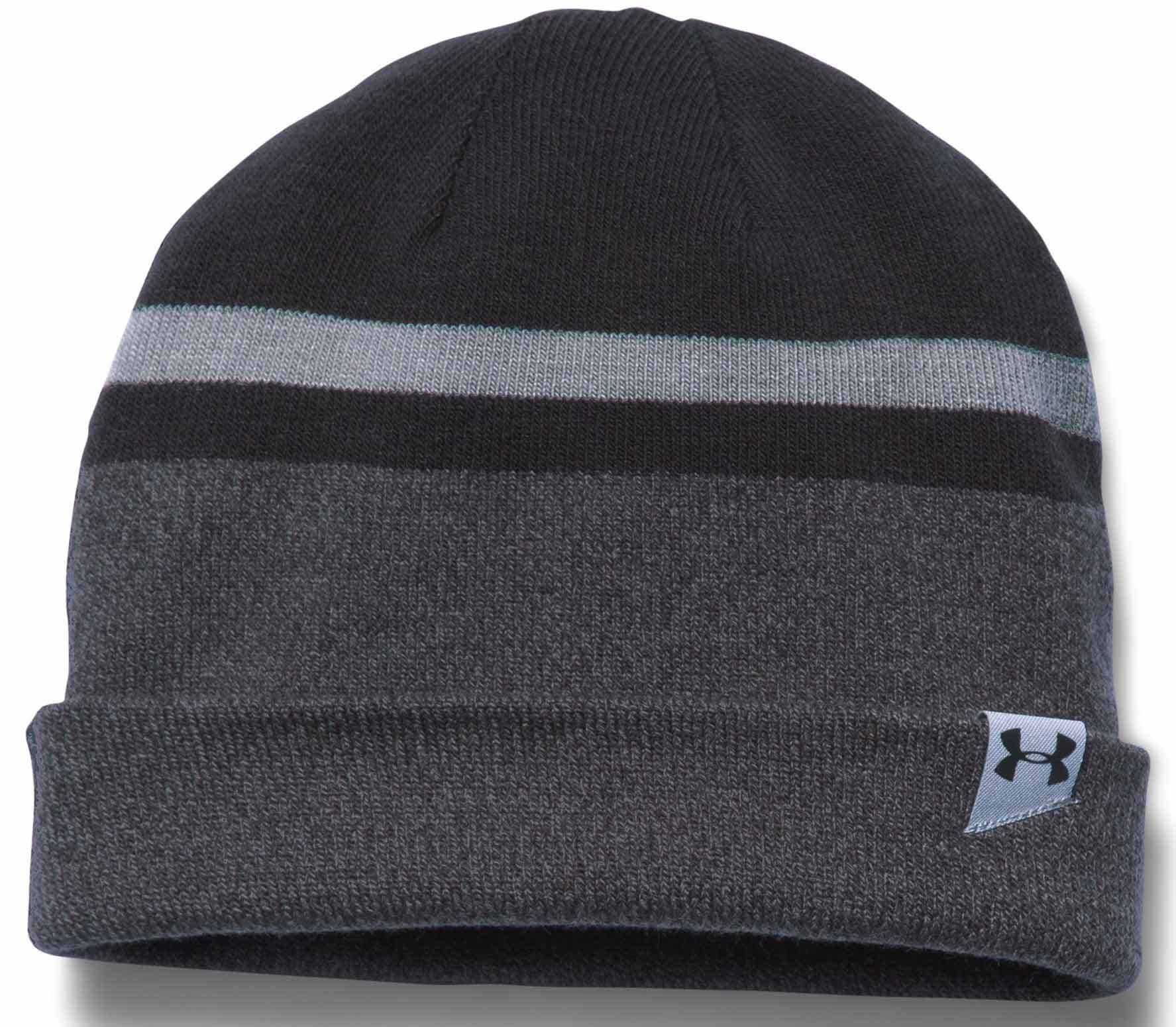 d04fdc2352ce5 Under Armour - 4 in 1 beanie 2.0 men s training Hat (grey black ...