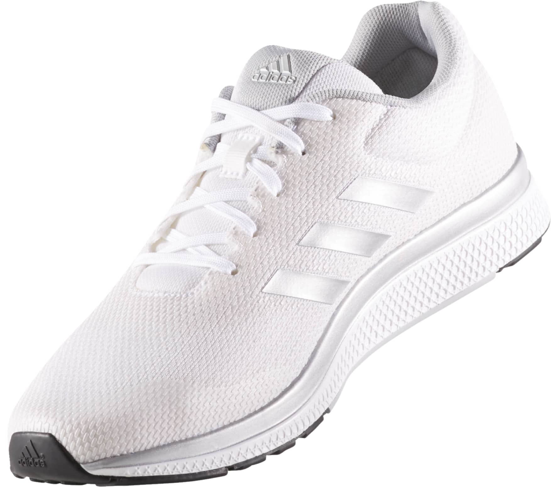 cheap for discount 840c9 bba2c Adidas - Mana Bounce 2 Aramis zapatillas de running para hombre (blanco  plata)