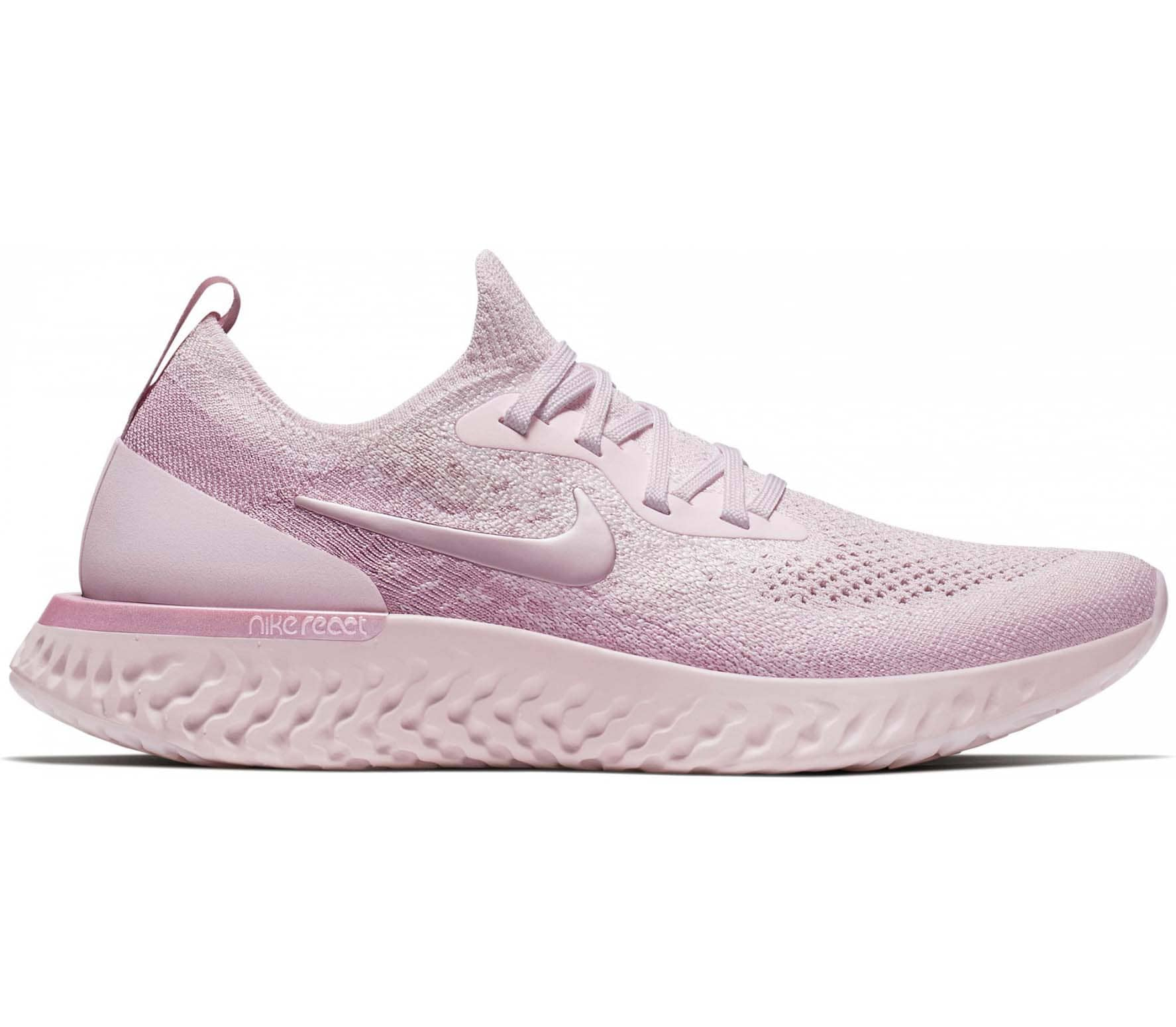eb16228cce Nike - Epic React Flyknit Femmes chaussure de course (rose) acheter ...
