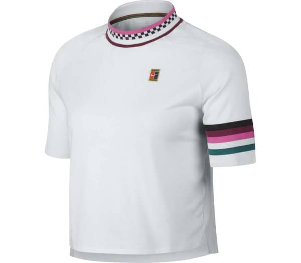NIKE Court Dri-Fit Breathe Slam Damen Tennisshirt - 1