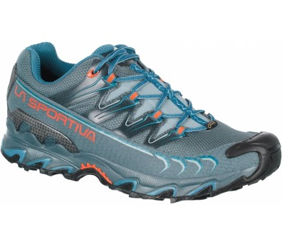 La Sportiva - Ultra Raptor GTX men's mountain running shoes (grey/blue)