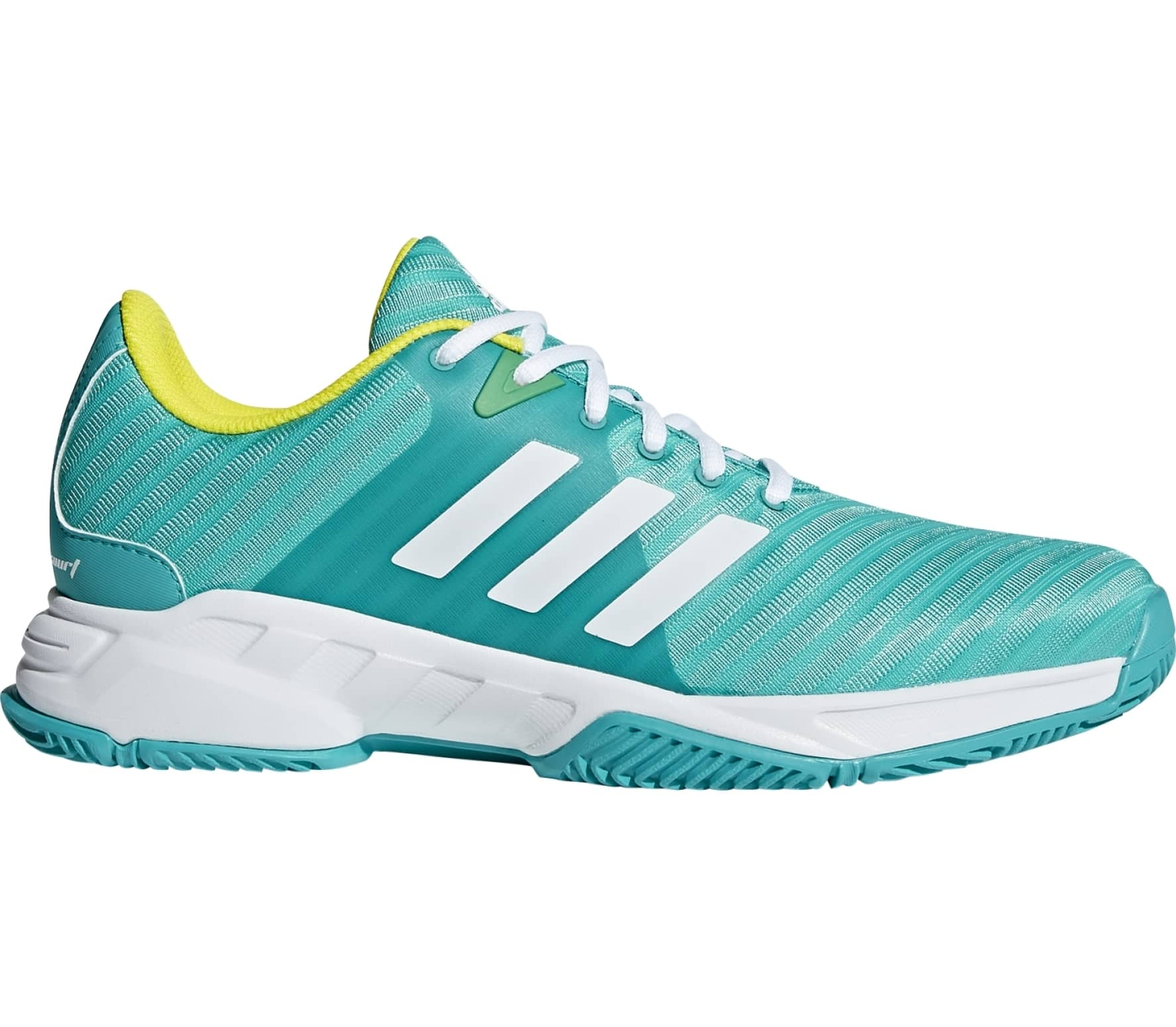 f21c81d074b6a adidas performance - Barricade Court 3 men s tennis shoes (turquoise ...