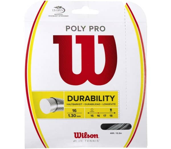 WILSON Poly Pro (16) Tennis String - 1