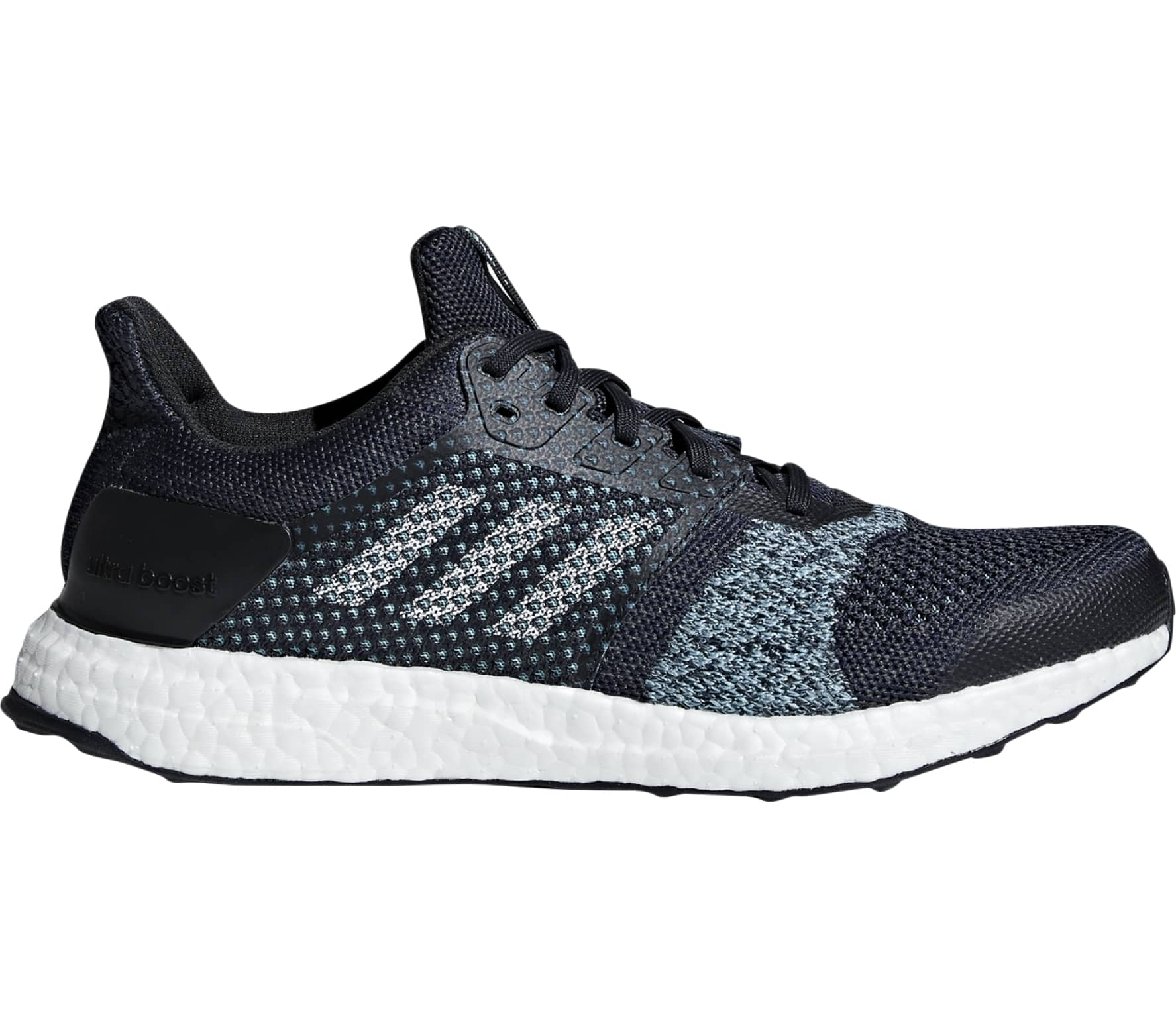 cb066c06d65 Adidas - UltraBOOST ST Parley men s running shoes (blue) Køb online ...