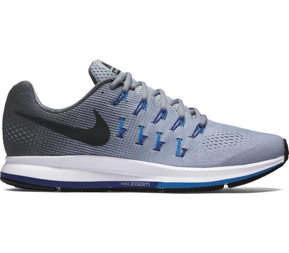 10a18333951 Nike - Air Zoom Pegasus 33 men's running shoes (light grey/blue ...