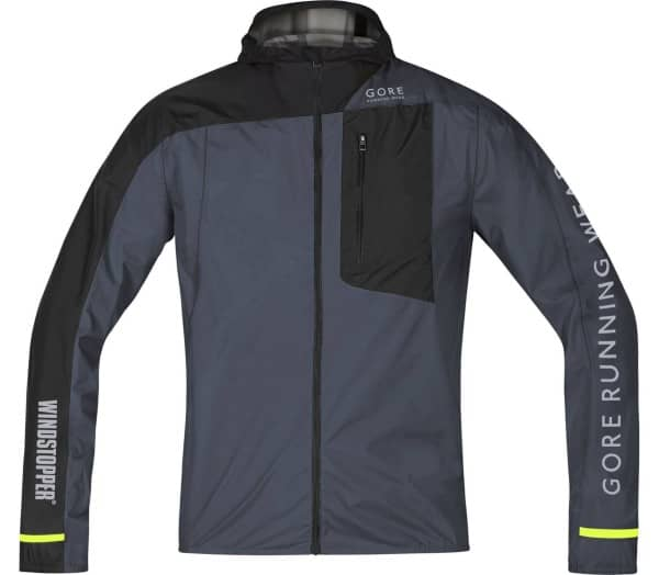 GORE® WEAR Fusion WINDSTOPPER® Active Shell Men Running Jacket