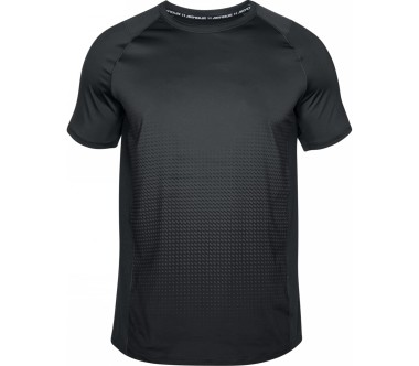 Under Armour - Raid 20 Dash Fade Shortsleeve Herren Trainingsshirt (grau/blau)
