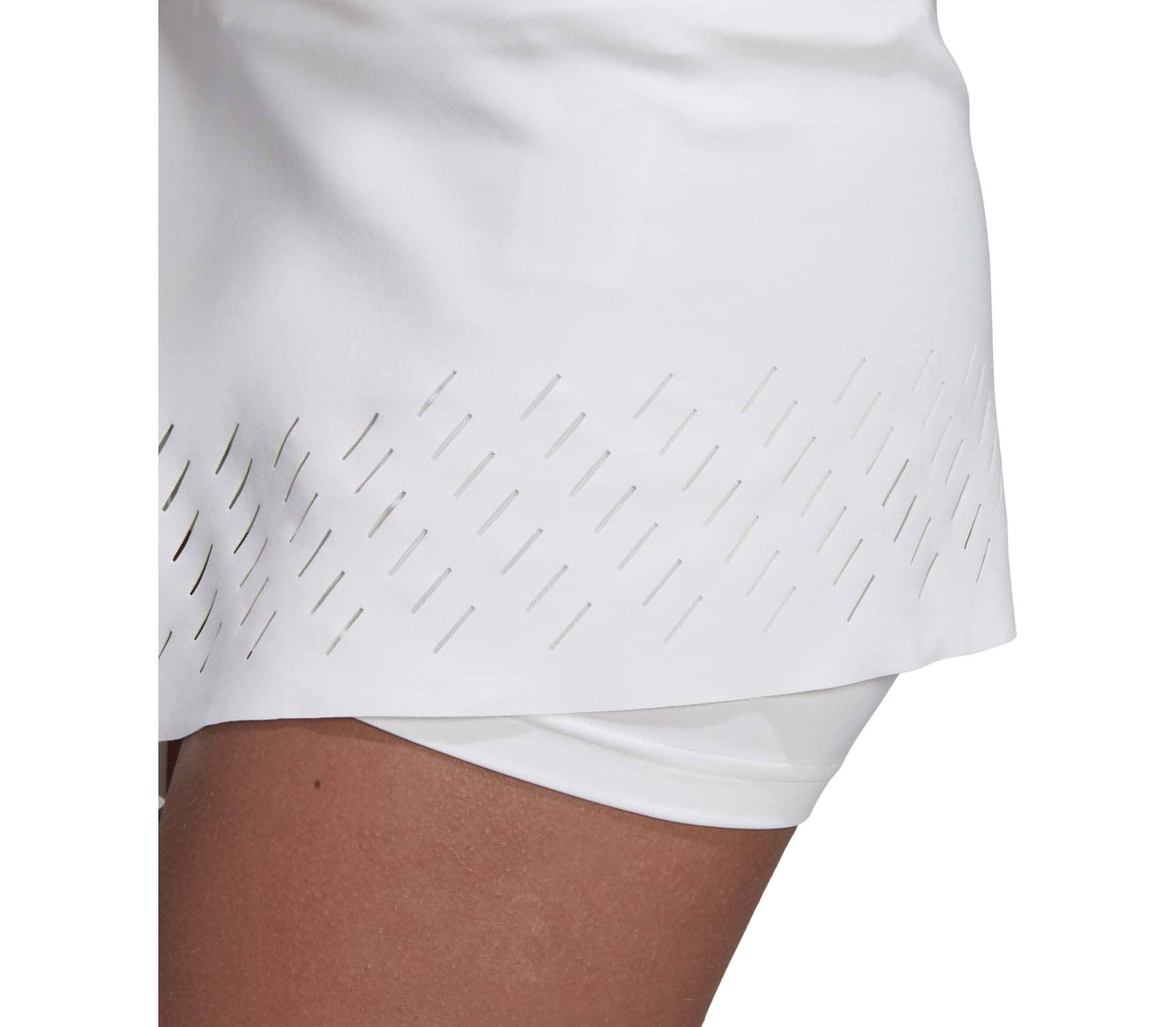 adidas by Stella McCartney Tennisrock Damen weiß