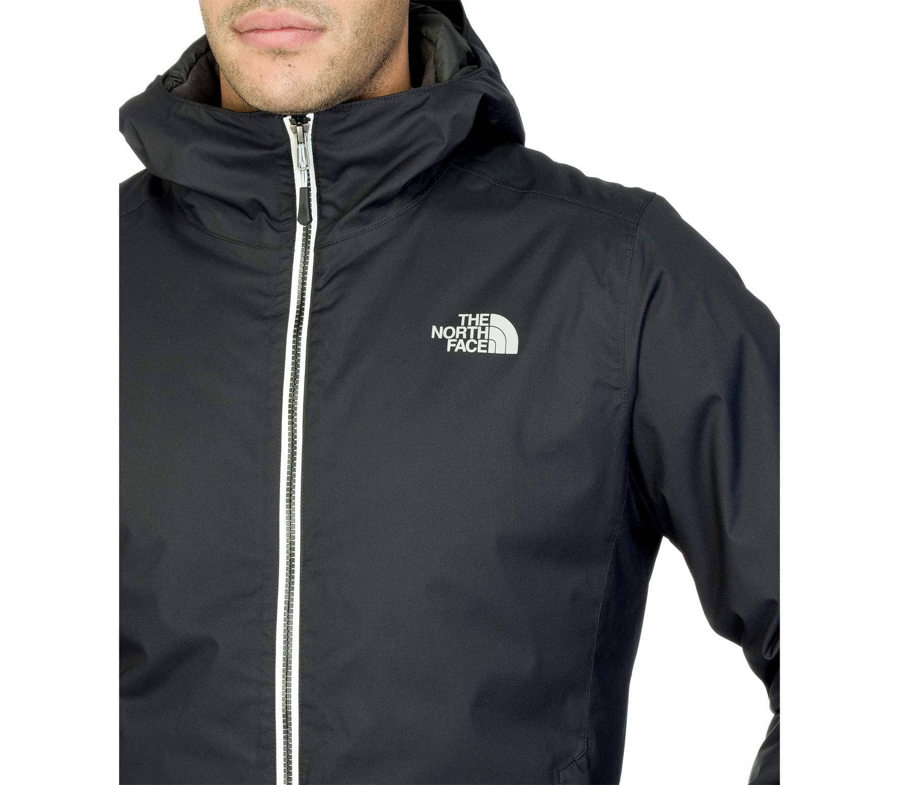 The Face negro Chaqueta Insulated North Hombre Quest Softshell 1FqUpx17