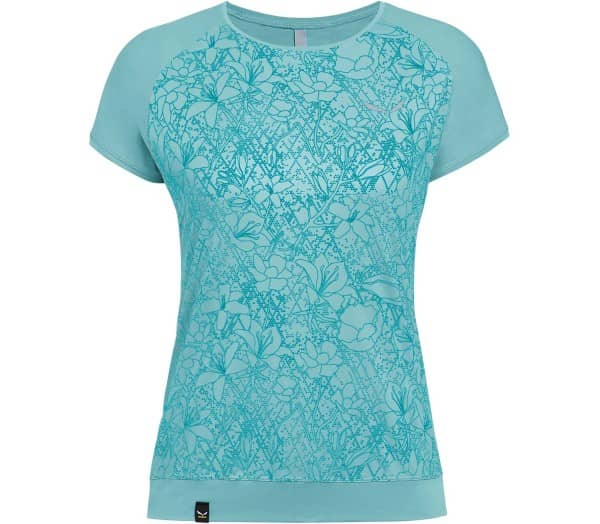 SALEWA Pedroc Print Dry Women Functional Top - 1