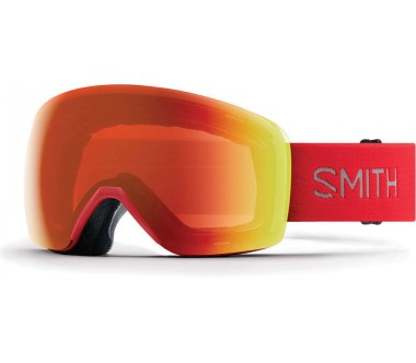 Smith Skyline ChromaPop Skibrille red