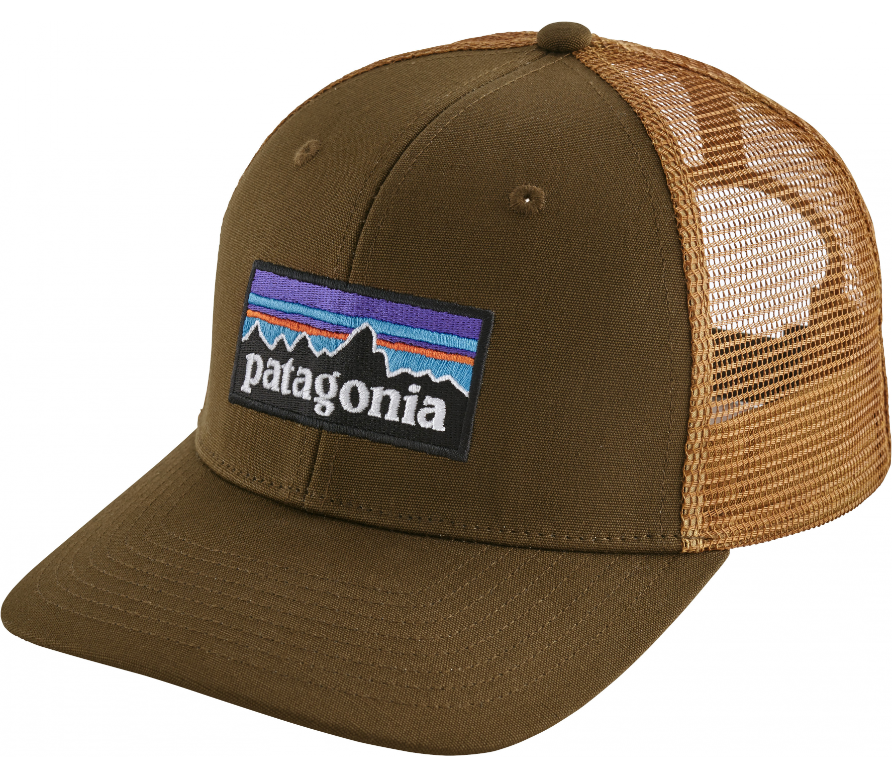 Patagonia - P-6 Logo Trucker cap (brown)