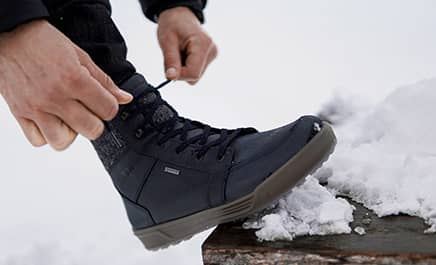 Reduced winter shoes