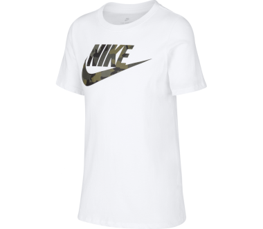 Nike Icon Futura Camo Junior Trainingsshirt Bambino bianco