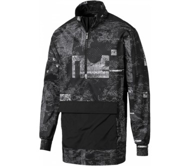 Puma - Energy men's windbreaker (grey/black)